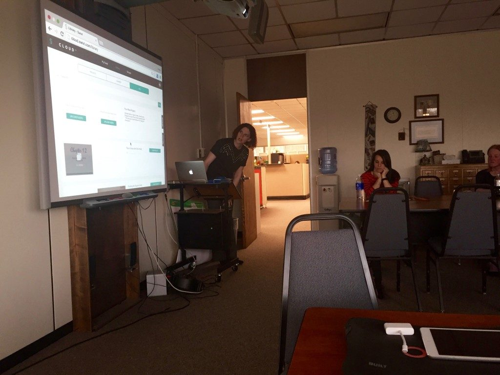 emily sharing swivl cloud
