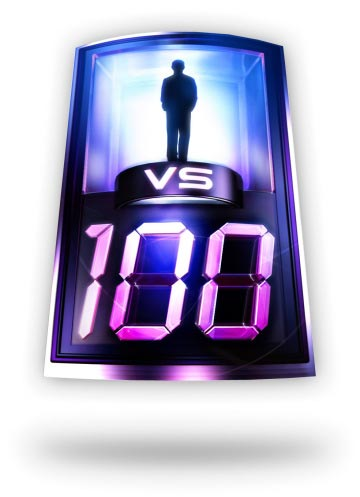 1 vs 100 clicker game