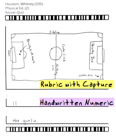 rubric with capture pe example