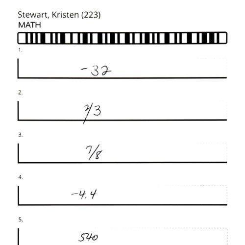 gradecam aita math