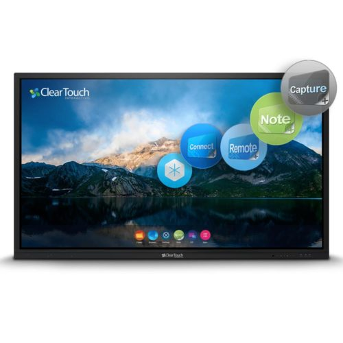 clear touch interactive flat panel 6000U series