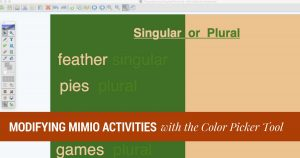 Mimio Color Picker Tool