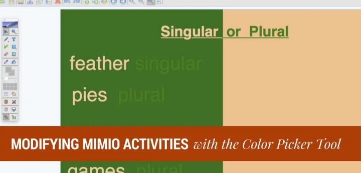 Mimio Color Picker Tool